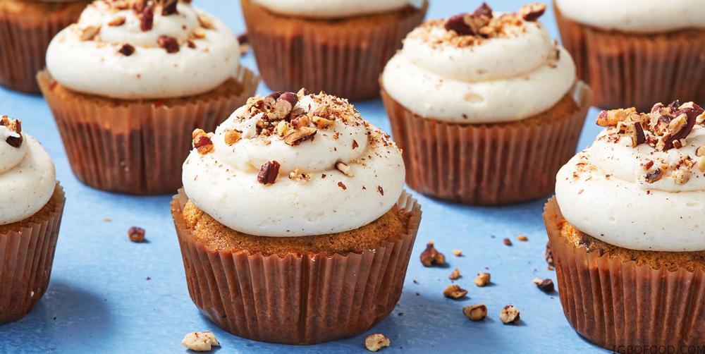 How to bake Carrot Cupcake